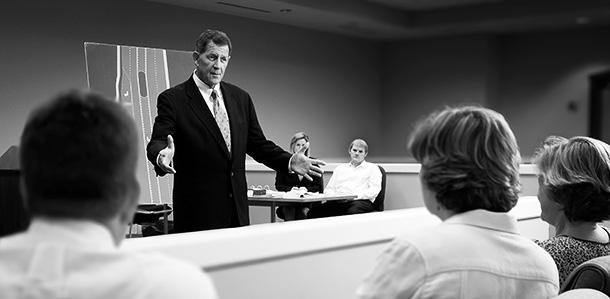 Bob Chestney courtroom DUI trial