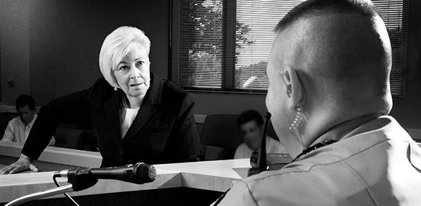 Rebecca Kozycki DUI trial courtroom